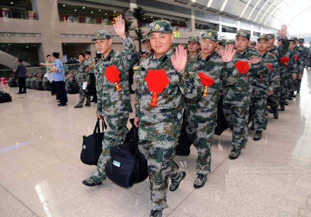 男兵入伍流程